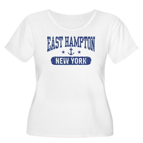 East Hampton New York Women's Plus Size Scoop Neck