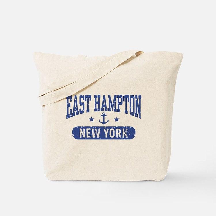 East Hampton New York Tote Bag