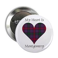 "Heart - Montgomery 2.25"" Button"