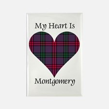 Heart - Montgomery Rectangle Magnet