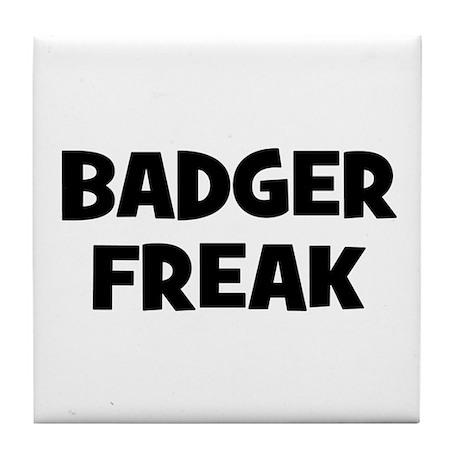 Badger Freak Tile Coaster