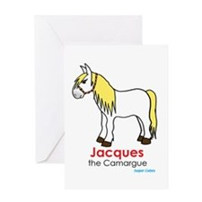 Jacques the Camargue Greeting Card