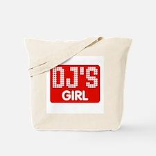 Dj's Girl Tote Bag
