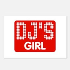 Dj's Girl Postcards (Package of 8)
