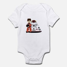 Spaceman and Space Capsule Infant Bodysuit