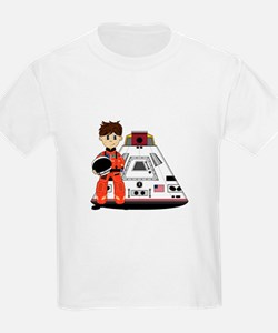 Spaceman and Space Capsule T-Shirt