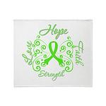 MD Hope Faith Love Throw Blanket
