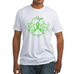 MD Hope Faith Love Fitted T-Shirt