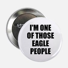 "Eagle People 2.25"" Button"