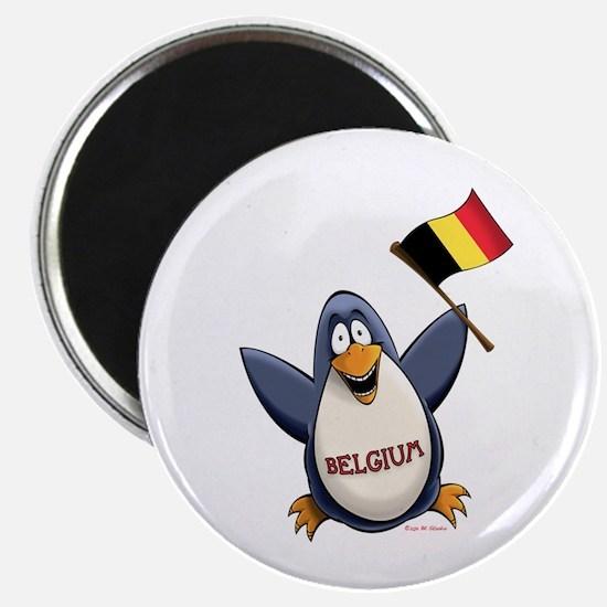 Belgium Penguin Magnet