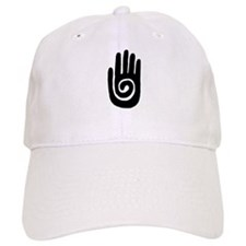 Hopi Hand Rock Painting Baseball Cap