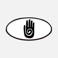 Hopi Hand Rock Painting Patches