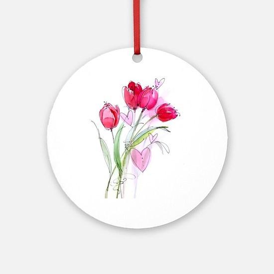 Tulip2 Ornament (Round)