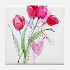 Tulip2 Tile Coaster