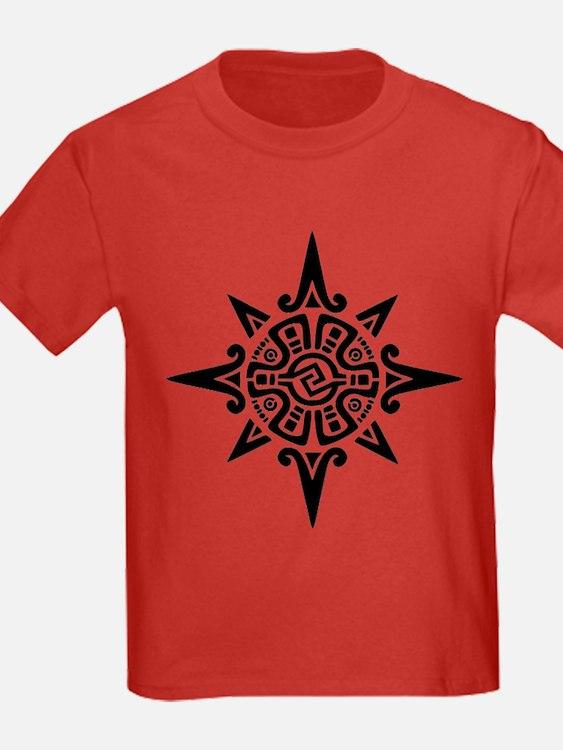 8-Point Incan Star Symbol T