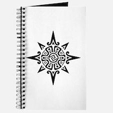 8-Point Incan Star Symbol Journal