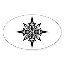 8-Point Incan Star Symbol Decal