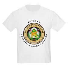 OIF Veteran Kids T-Shirt