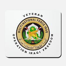 OIF Veteran Mousepad