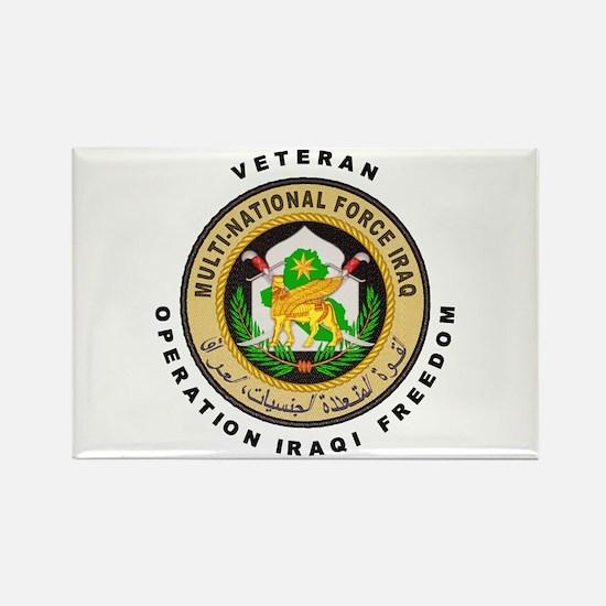 OIF Veteran Rectangle Magnet (10 pack)