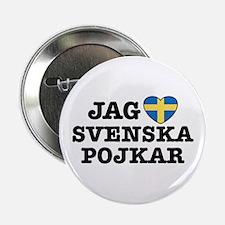 """Jag Svenska Pojkar 2.25"""" Button"""