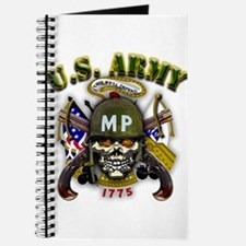 US Army MP Skull Military Pol Journal