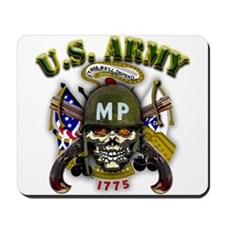 US Army MP Skull Military Pol Mousepad