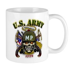 US Army MP Skull Military Pol Mug
