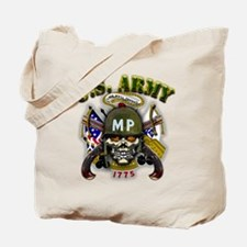 US Army MP Skull Military Pol Tote Bag