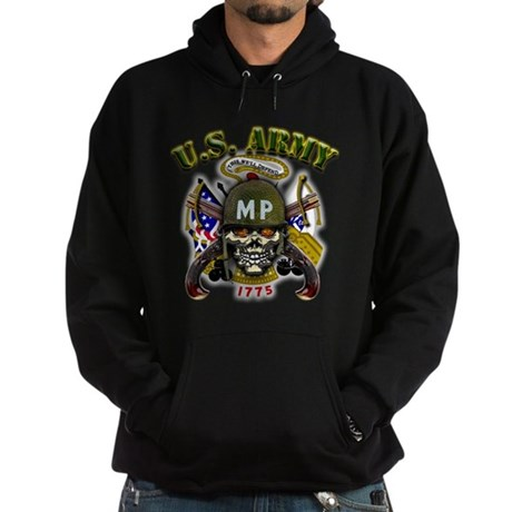 US Army MP Skull Military Pol Hoodie (dark)