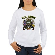 US Army MP Skull Military Pol T-Shirt