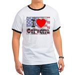 I Love Cervone Ringer T