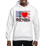 I Love Cervone Hooded Sweatshirt