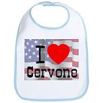 I Love Cervone Bib