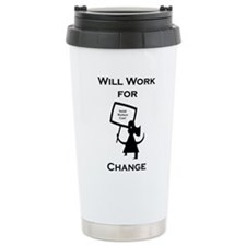 Work for Change Travel Mug