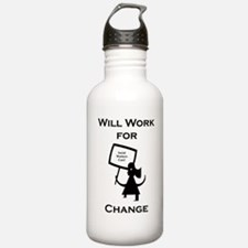 Work for Change Water Bottle