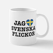 Jag Svenska Flickor Mug