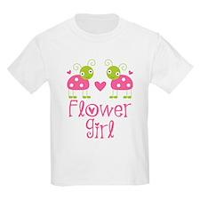 Flower Girl Ladybug T-Shirt