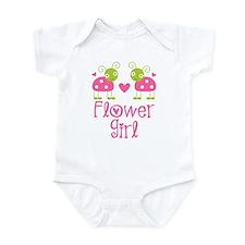 Flower Girl Ladybug Infant Bodysuit