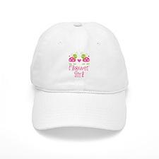 Flower Girl Ladybug Baseball Cap