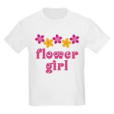 Flower Girl Tropical Hawaiian T-Shirt