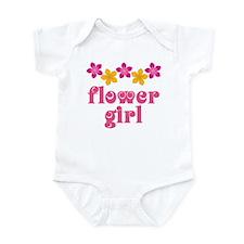 Flower Girl Tropical Hawaiian Infant Bodysuit