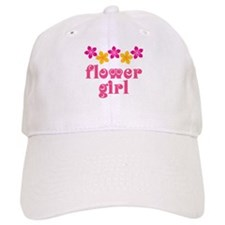 Flower Girl Tropical Hawaiian Baseball Cap