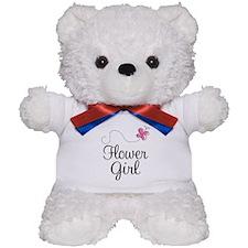 Flower Girl Wedding Teddy Bear