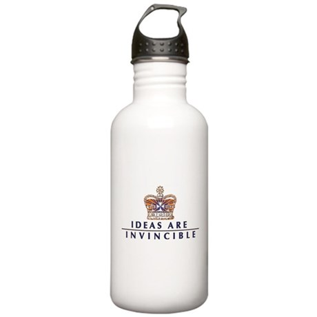 Ideas Are Invincible Stainless Water Bottle 1.0L