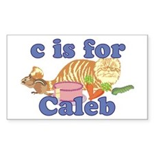 C is for Caleb Decal