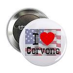 """I Love Cervone 2.25"""" Button (10 pack)"""