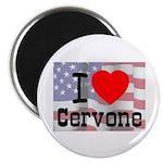 I Love Cervone Magnet