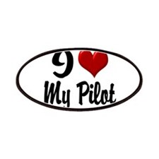 Heart My Pilot Home/Office Patches