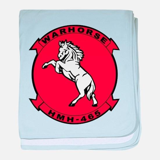 Hmh-465 War Horse baby blanket